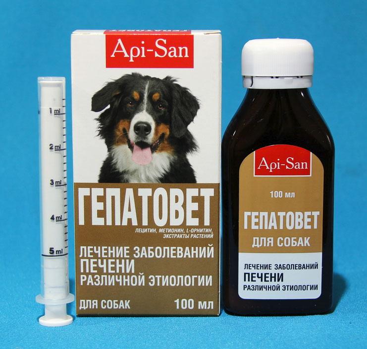 Гепатовет при инфекционном гепатите у собак